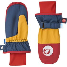 Finkid Kirjava Moufles Enfant, navy/red
